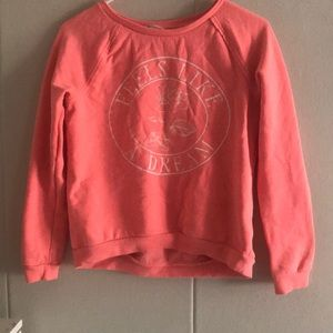 Coral girls sweater size 12